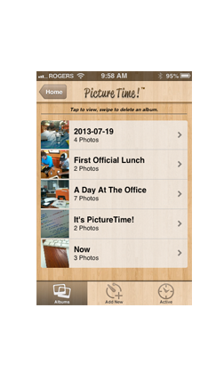 PictureTime! A Photo App for Capturing Spontaneous Moments